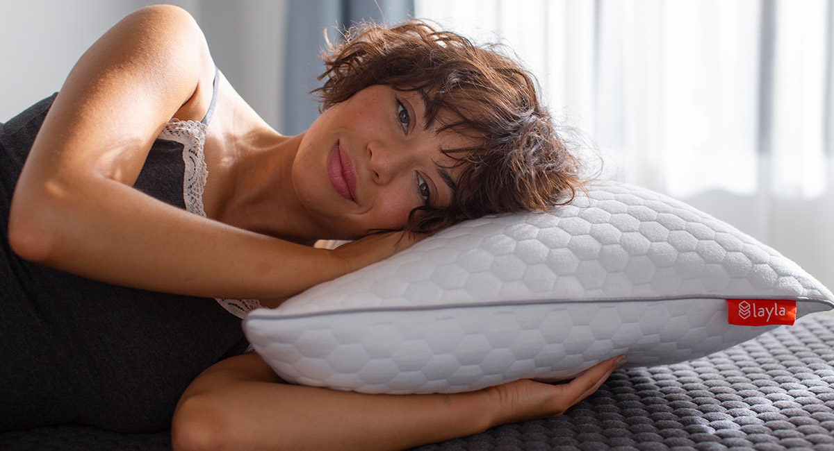Layla Memory Foam Pillow