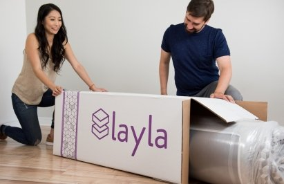 Layla Mattress bed in a box
