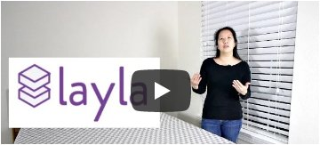 Two beds in one! We love the Layla Mattress…