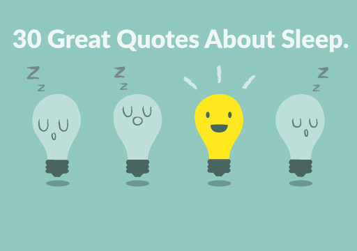sleep quotes wake up a bulb