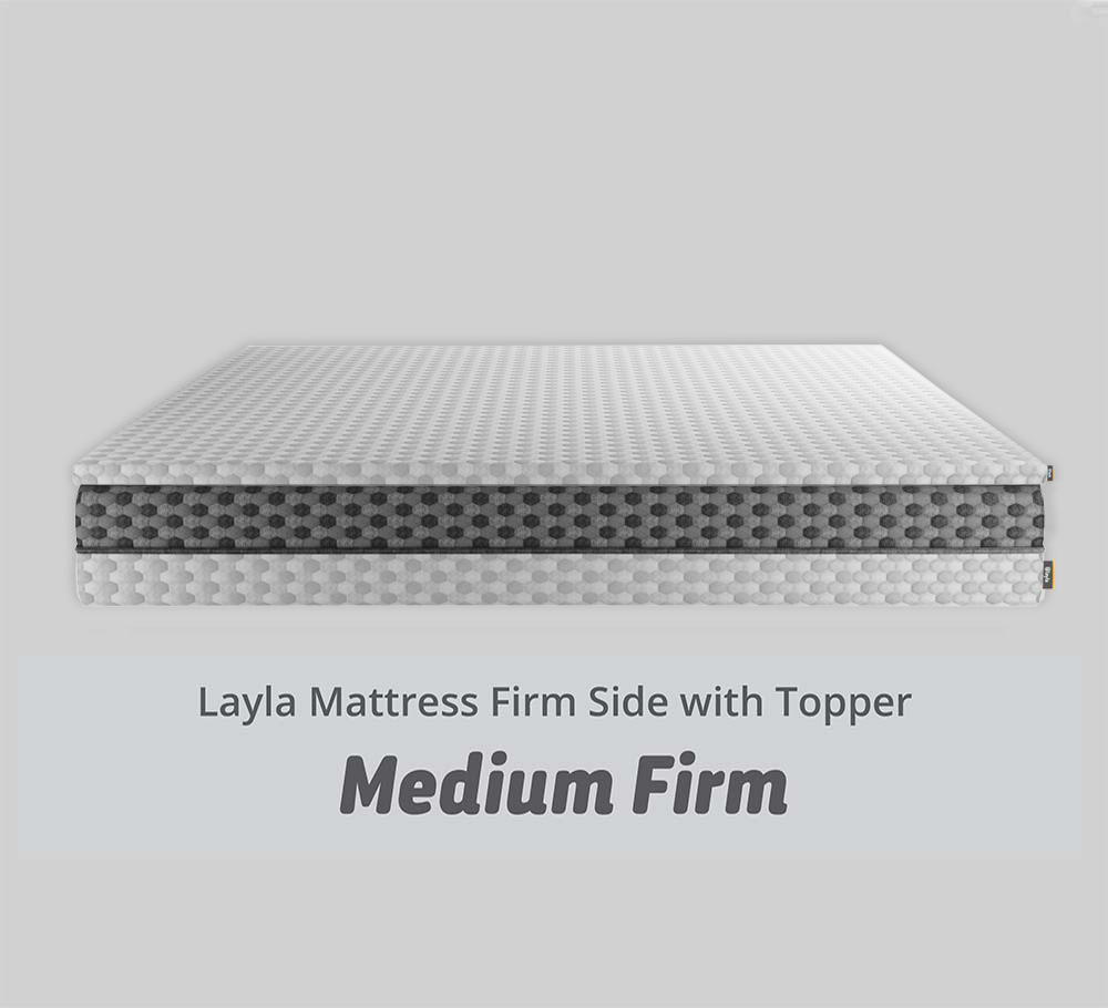 Mattress Firm Side with Topper
